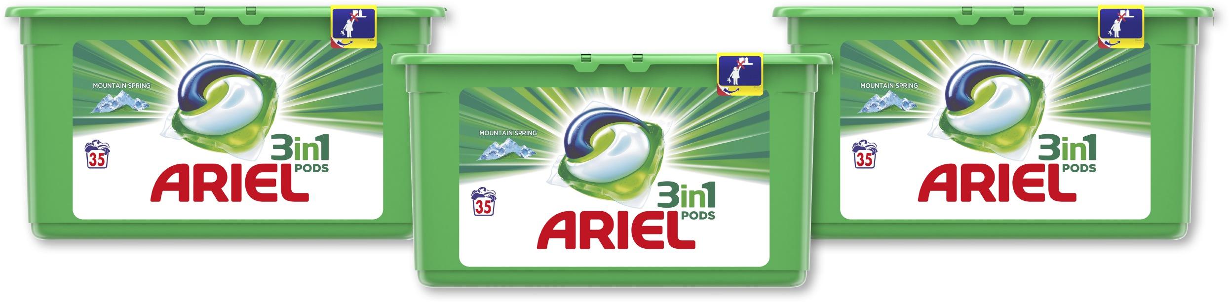 Ariel Капсулы для стирки Mountain Spring 3x35 шт.