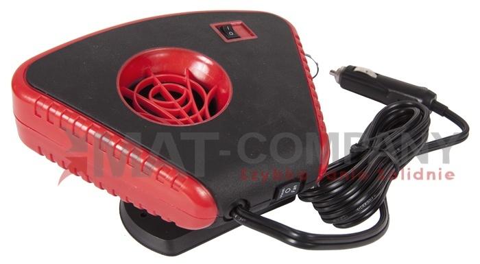 Обогреватель автомобильный вентилятор обогреватель 12в 200вт (фото 4) | Автозапчасти из Польши