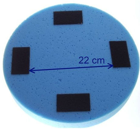 Sponge Blue Mac Edil 5cm