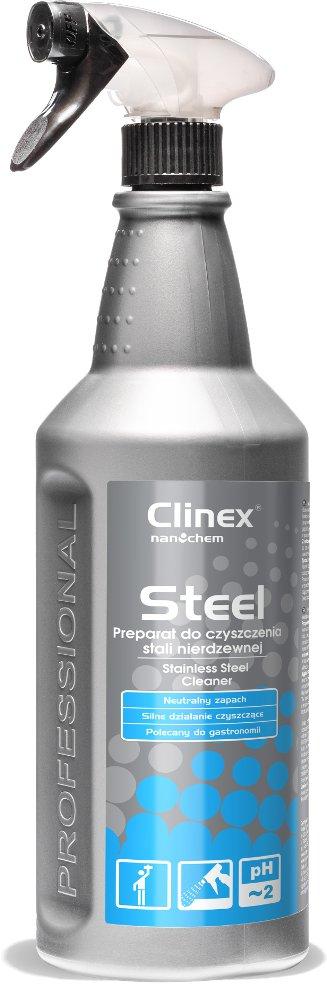 CLINEX STEEL средство для очистки нержавеющей стали