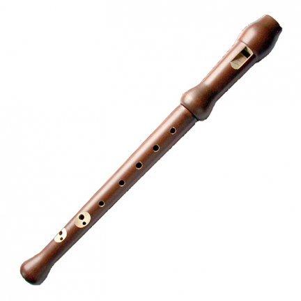 Drevená flauta Jednoduchá Soprano Barokový Janko