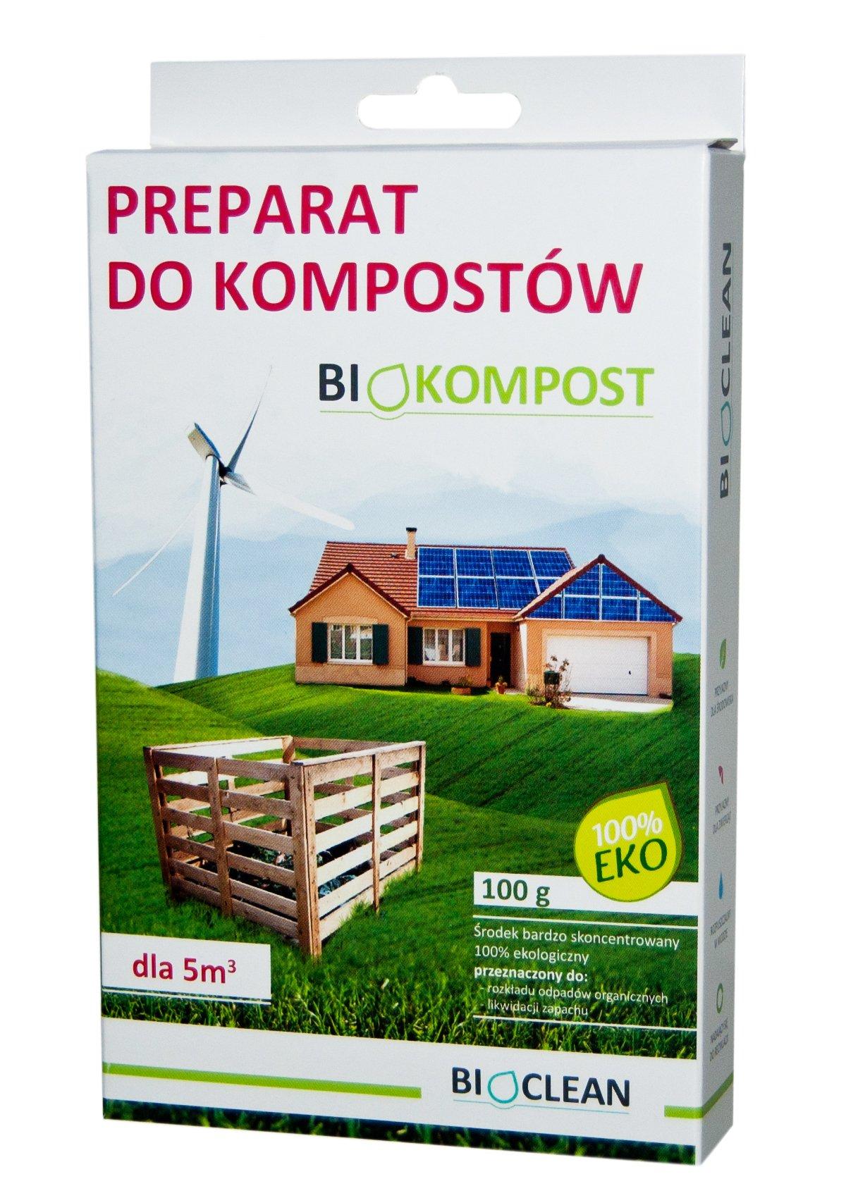 BIOKOMPOST 100g preparat do kompostowania kompost