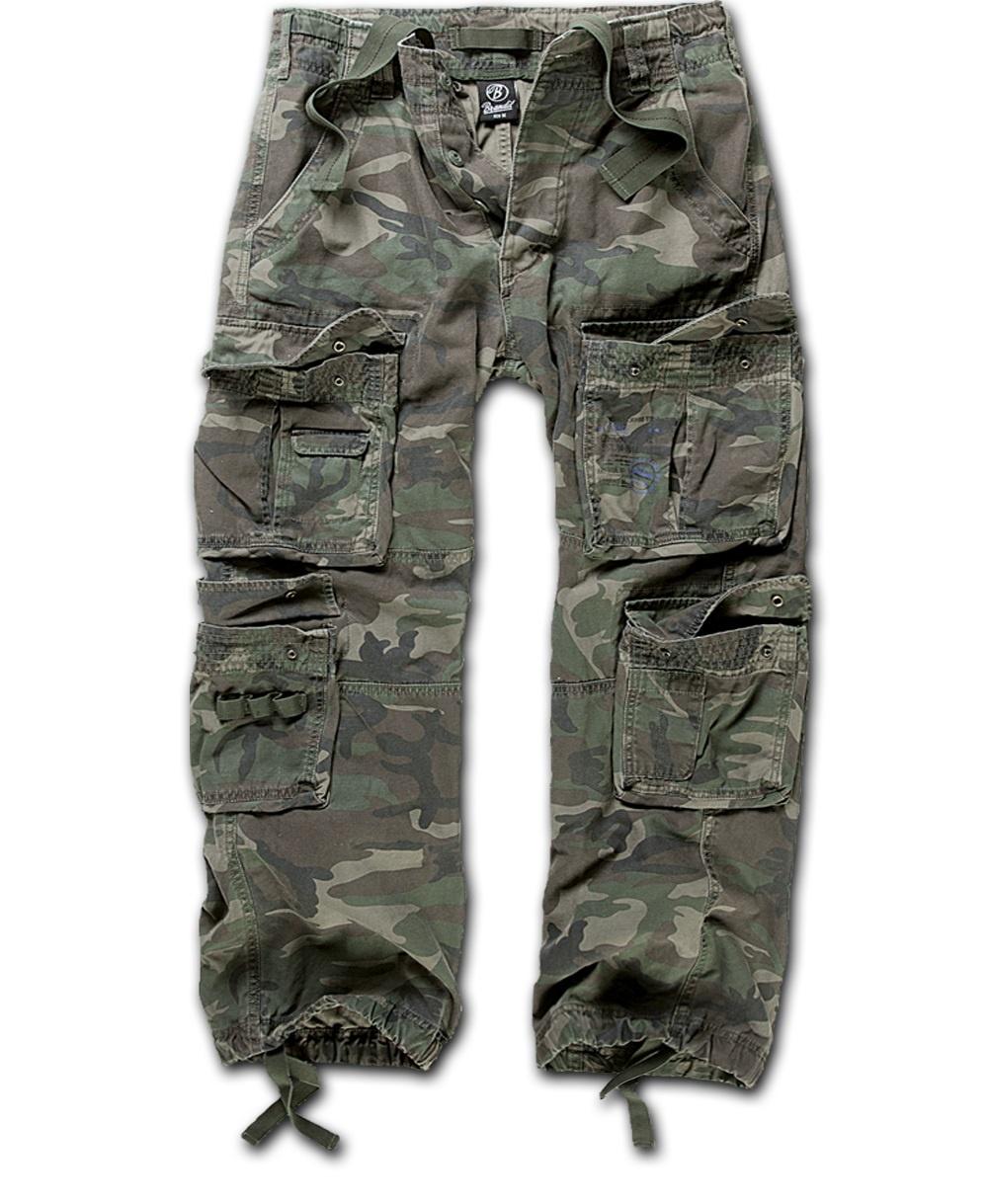 Nohavice BRANDIT Čistý Vintage lesné XXL