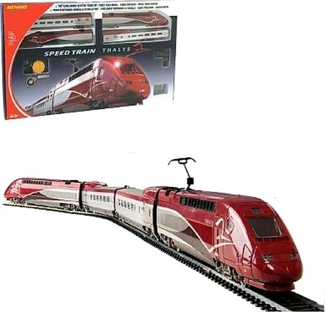 TGV THALYS ELECTRIC VLAK MEHANO VLAKOM