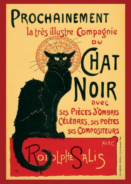 Chat Noir Steinlein - Session - Poster 61x91,5 cm
