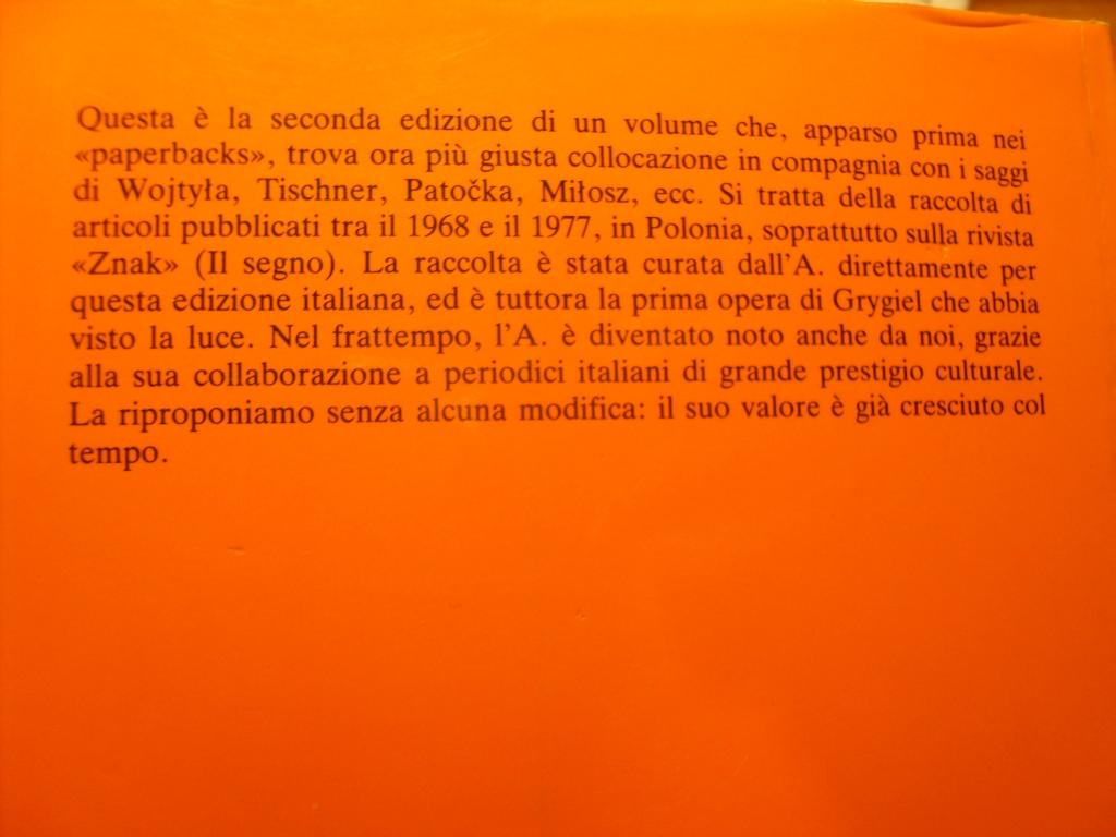 L'UOMO VISTO DALLA VISTOLA GRYGIEL RELIGIA LUDMIŁA Tytuł Tytuł książki jak w opisie