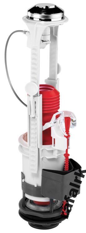 WC Kompakt 3 / 6L WIRQUIN Expert vypúšťací ventil