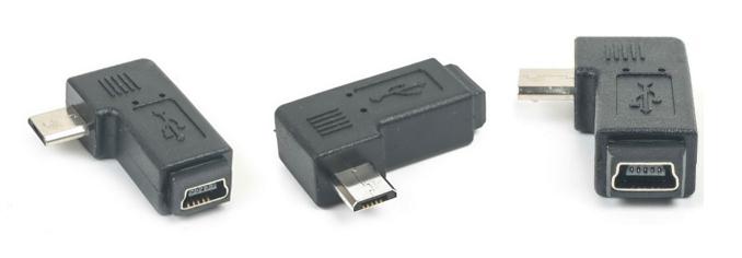 Adaptér Micro USB pre MINI USB M / F