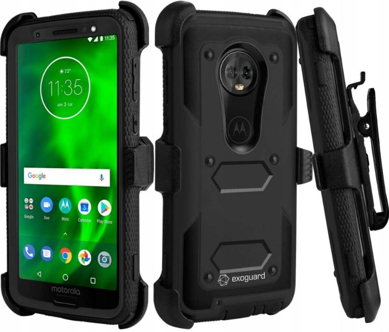 Exoguard - Etui Pancerne Case - Motorola Moto G6