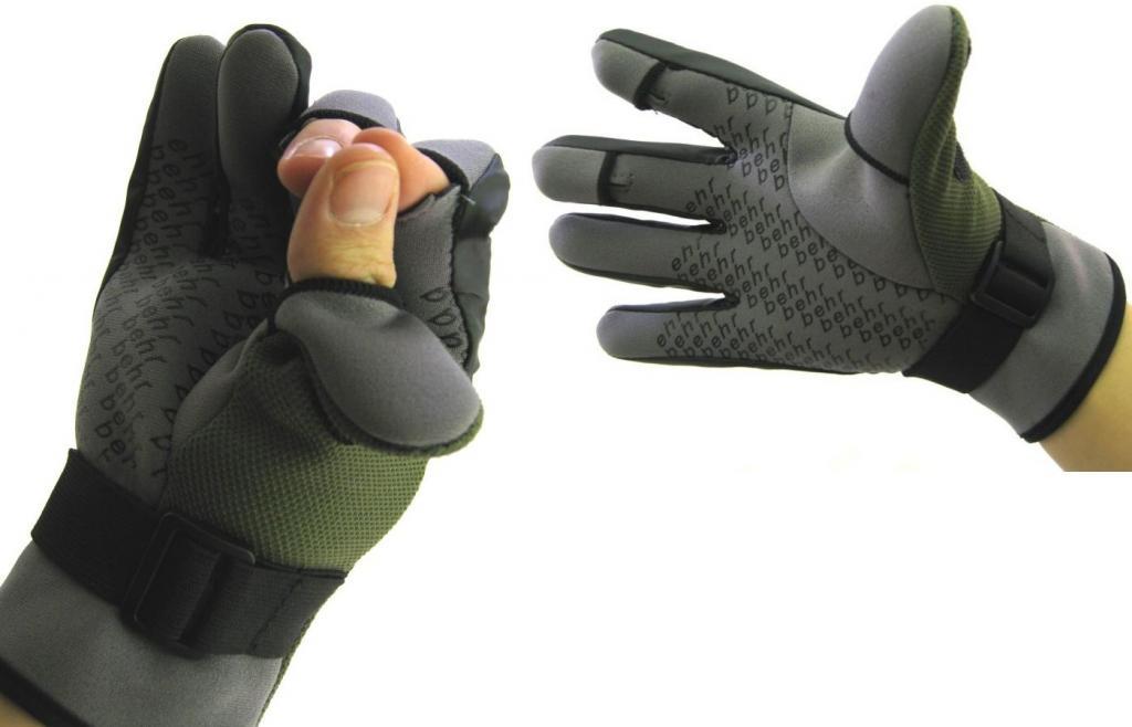 Teplé, ľahké neoprénové rukavice. XL