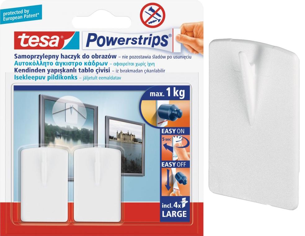 крючки-вешалки Самоклеящиеся TESA для картин x2