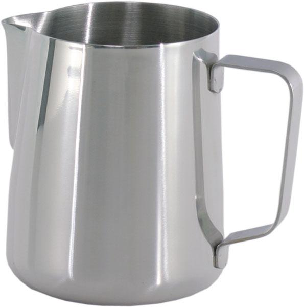Džbán nerezový hrnček pre penenie mlieka 0,6l