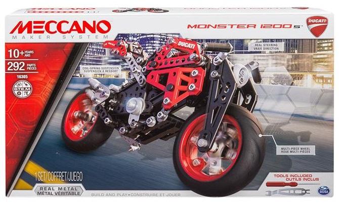 Meccano Stavebné Podložky Ducati Motocykla 292 al.