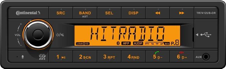 CONTINENTAL TR7412UB-ALEBO RETRO rádio