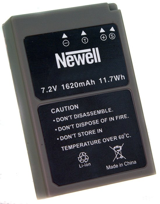 Item BATTERY NEWELL replacement for the OLYMPUS BLS-50