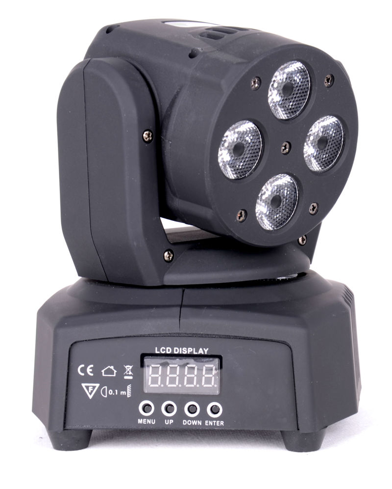 Sťahovacia hlava LMH350RGBW-MINI IBIZA DISCO FARBY