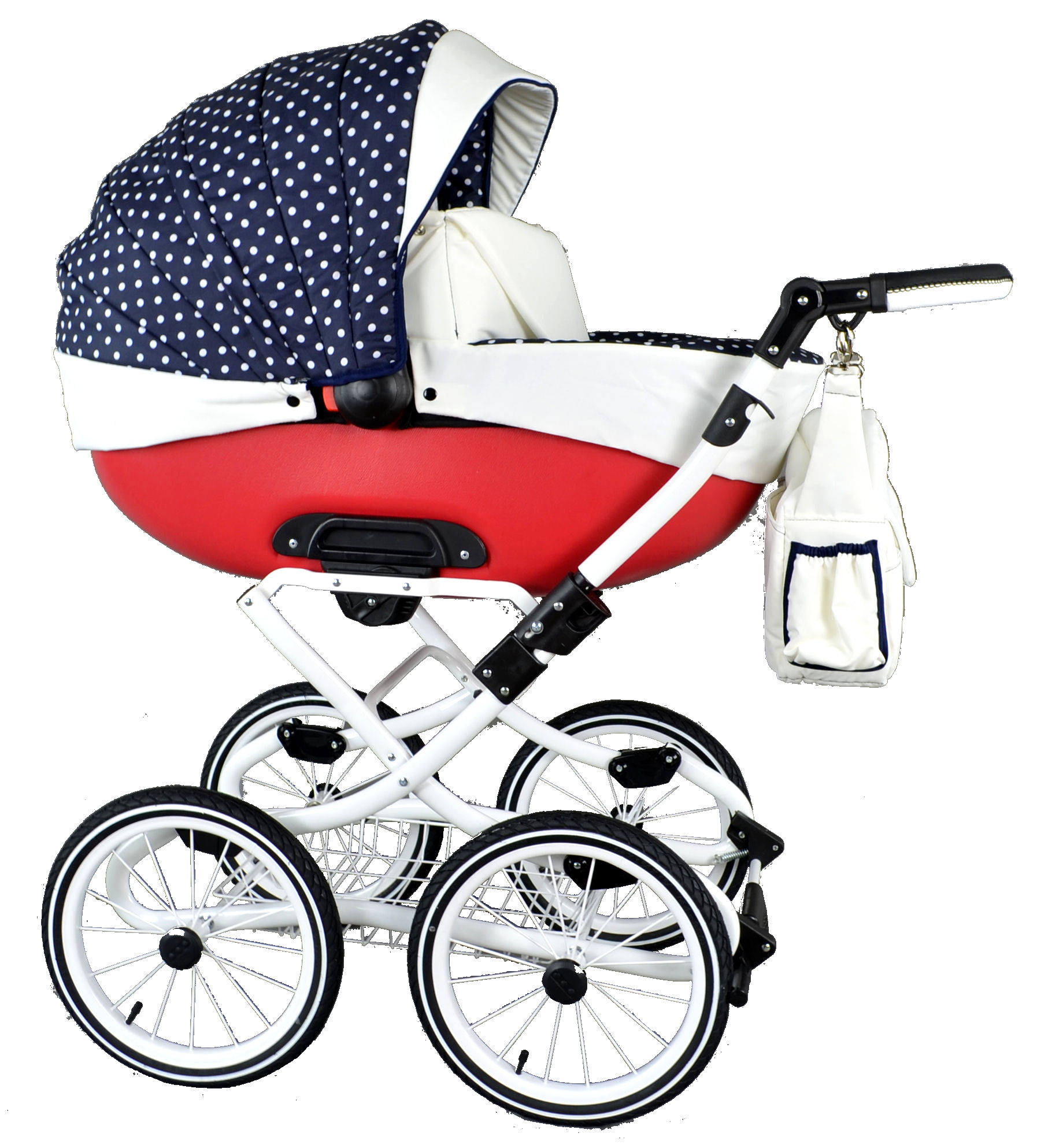 30 farieb BABY CARRIAGE 3v1 RETRO Deep Spac