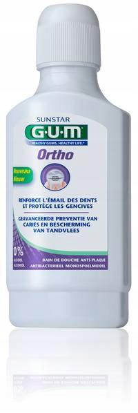 GUM Ortho płyn aparat ortodontyczny 300ml