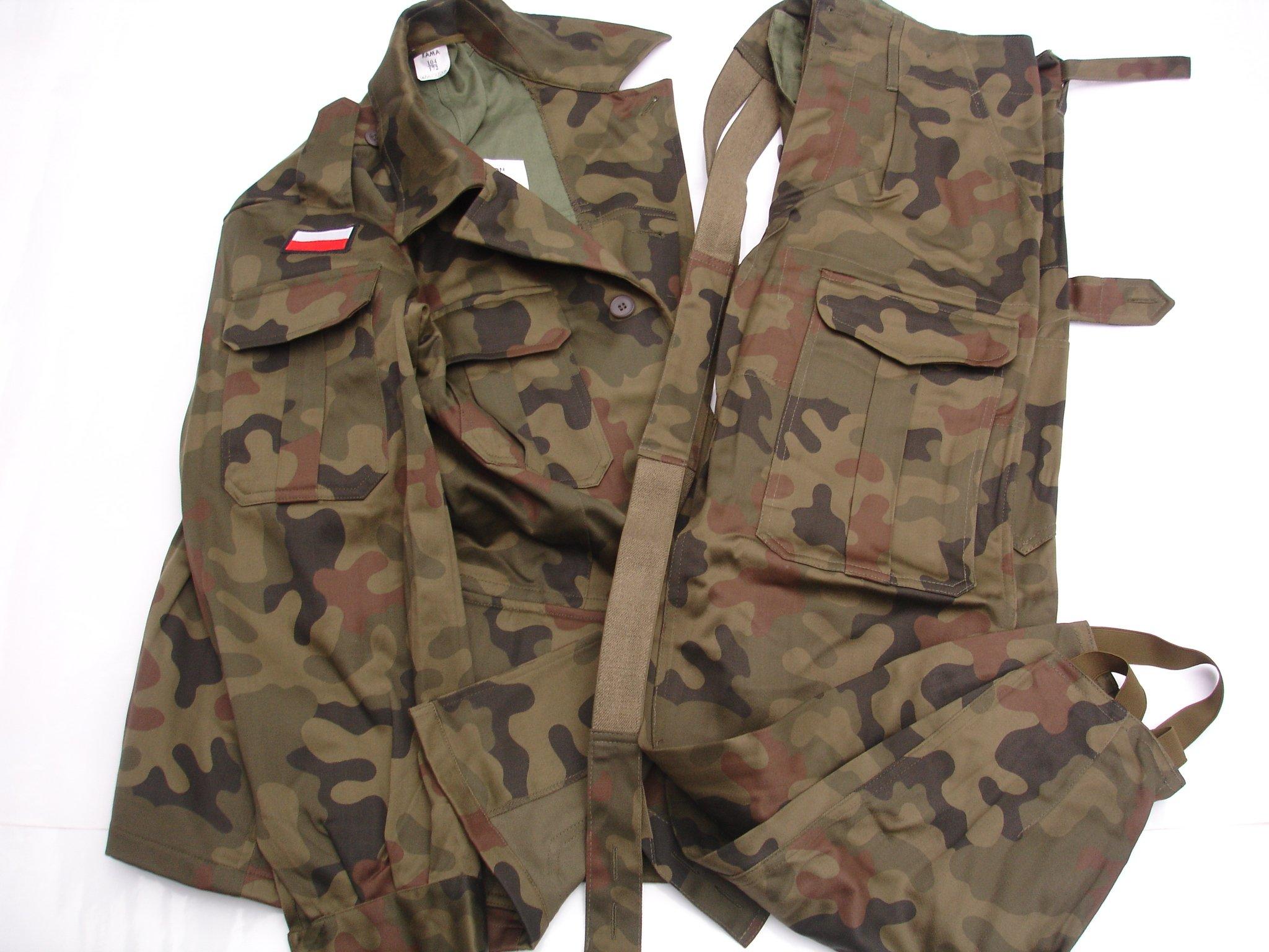 Wojskowy Mundur Polowy Caloroczny Pantera Wz 93 7275088521 Allegro Pl