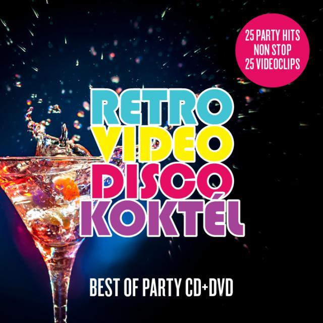 RETRO VIDEO DISCO HITY non-stop CD+DVD 80 90