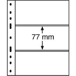 KARTA STRONA LEUCHTTURM OPTIMA SH252 NA 3 BANKNOTY