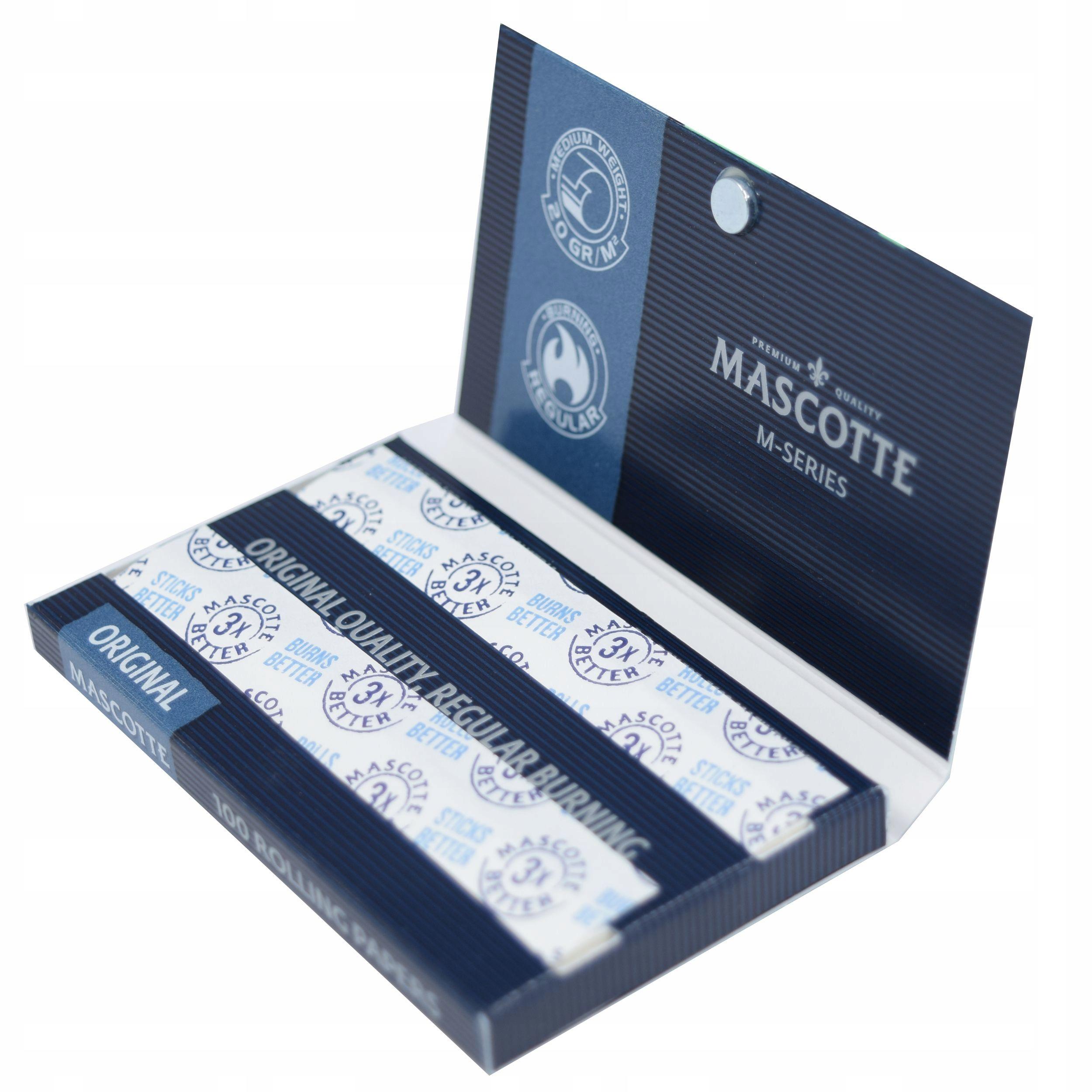 Сигаретная бумага Mascotte Gomme 100 Magnetic окб