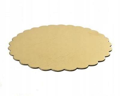 Основа для торта круглая 28 см MEGA RIGID gold