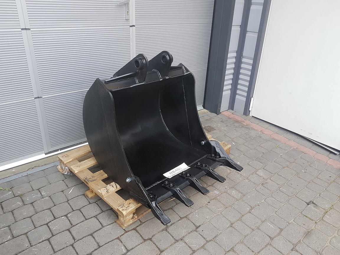 ŁYŻKA 80 cm CAT 428 432 Lemiesz - HARDOX