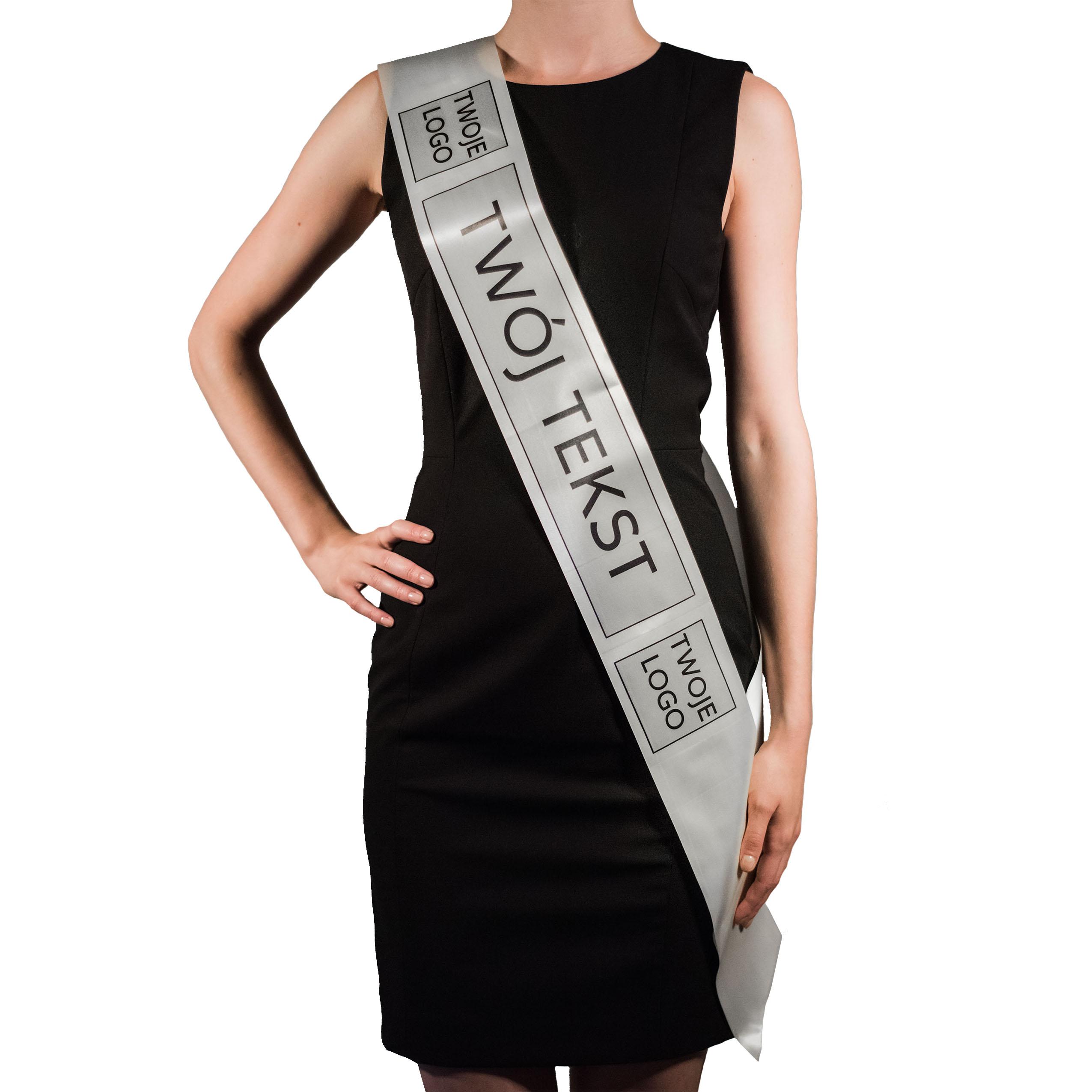 Szarfa Reklamowa Dla Hostessy Z Nadrukiem Lub Logo 6427686747 Allegro Pl