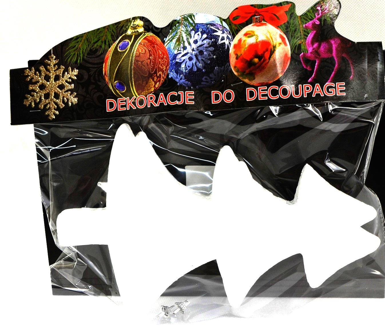 Styrofoam Christmas Tree Prívesok Vianočné dekorácie 2