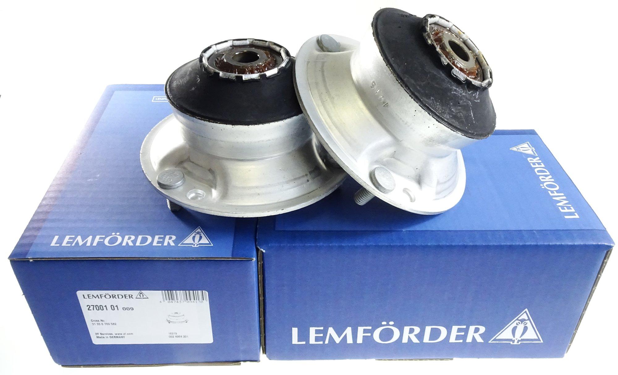 lemforder подушки амортизатора вперед bmw e39 e60