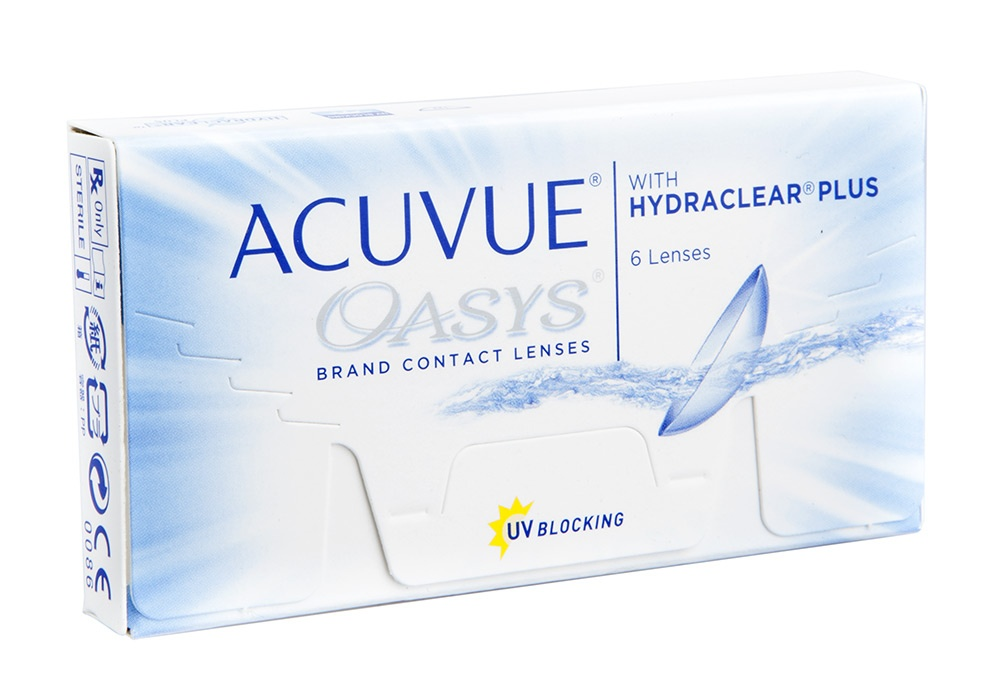 Item Acuvue Oasys Hydraclear Plus 6 PCs