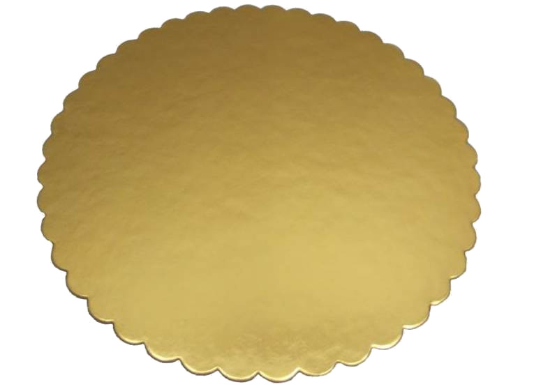 Item SUBSTRATE UNDER THE CAKE GOLD 30 CM THICK PROMOTION