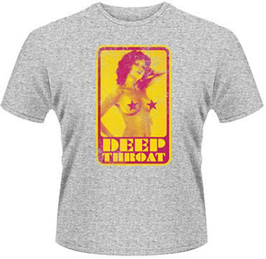 org. t-shirt DOSPELÝCH - DEEP THROAT (RETRO) veľkosť. M