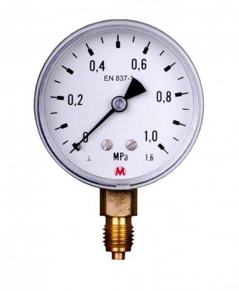 Manometr radialny 40mm 0-10bar GZ1/8