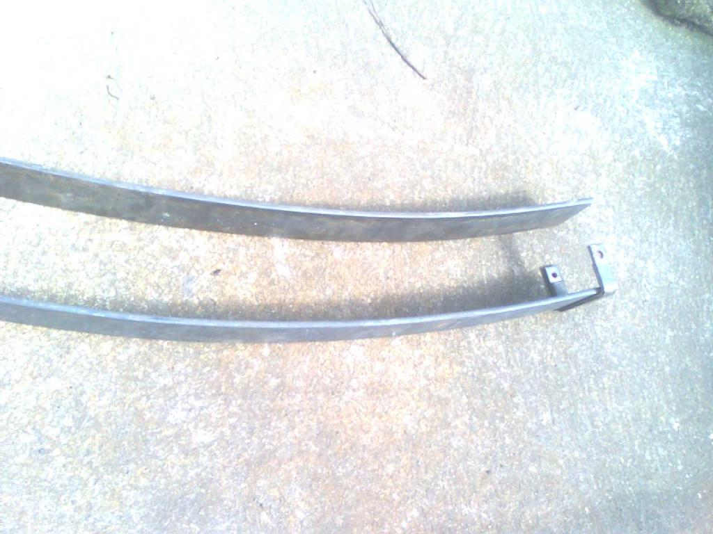 рессоры листовая mitsubishi l-200 сзади