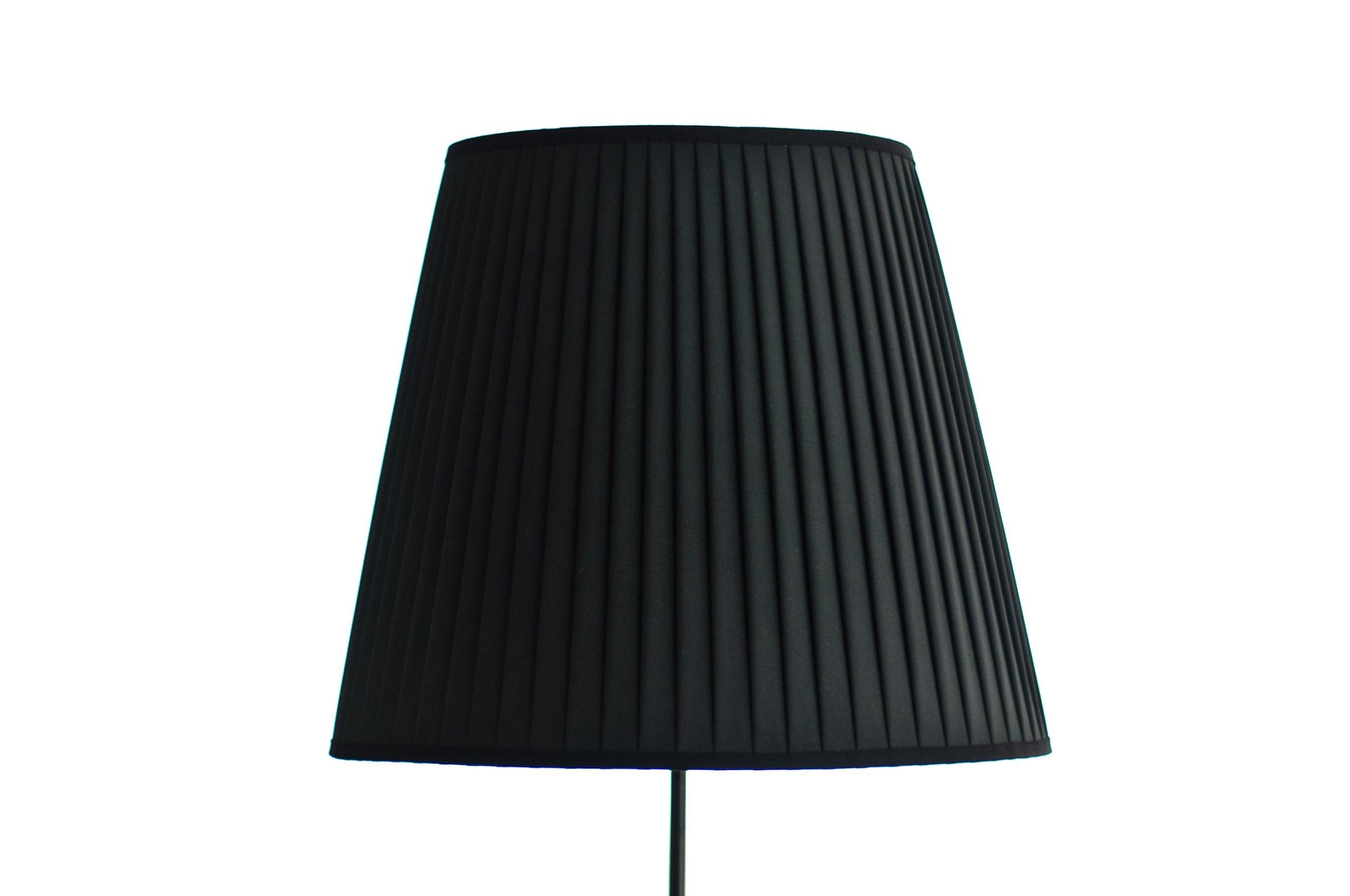 23e0a7c9 Duży ręcznie plisowany abażur na lampę. Producent.