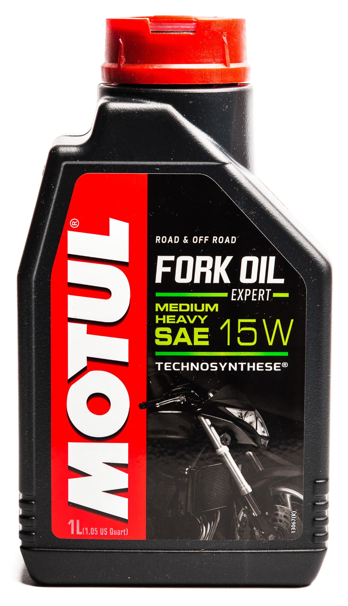 MOTUL Fork Oil 15W - масло для амортизаторов, лаг 1Л