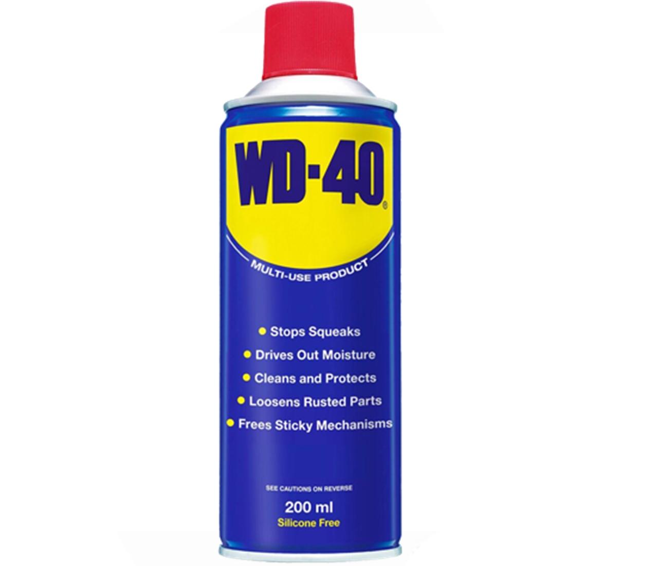 WD 40 Multifunkčný prípravok Sprej WD-40 200ml