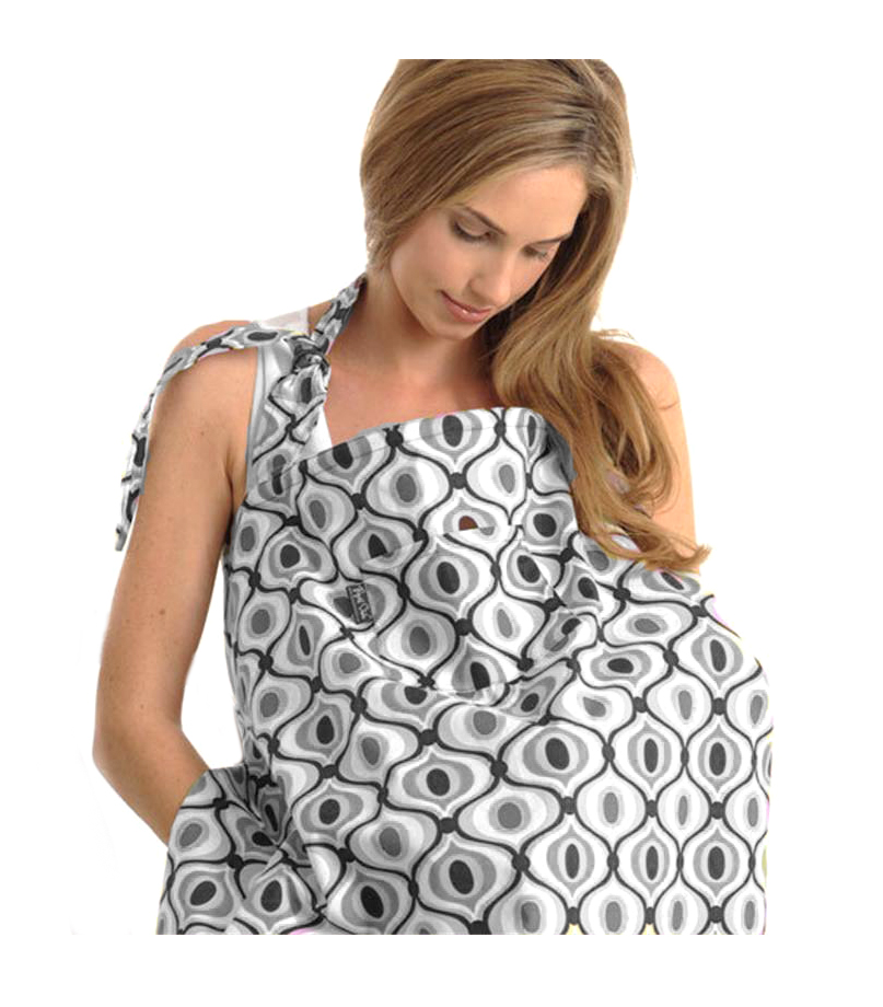 Zdieľať kryt pre dojčenie + puzdro