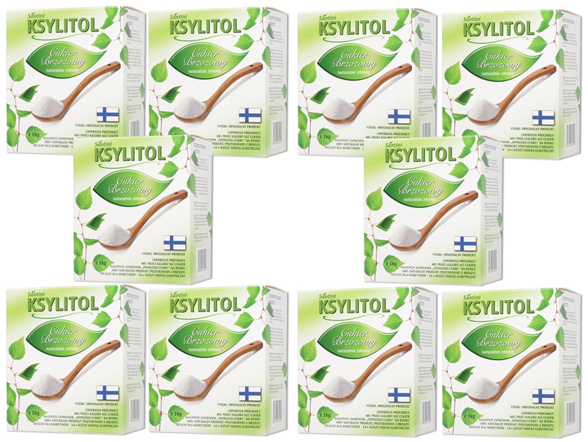 XYLITOL fínsky 10 kg 100% breza cukru, xylitol