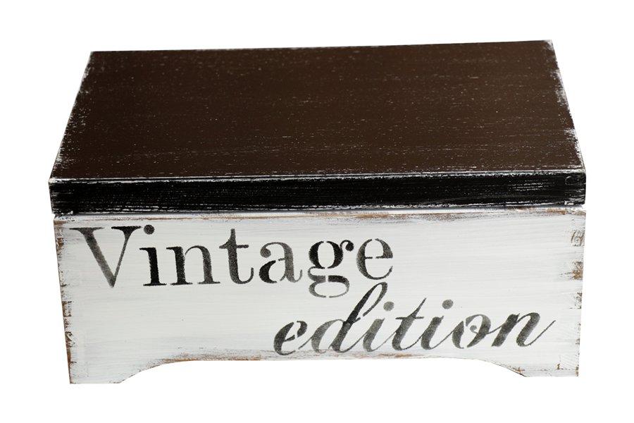 Box šperky Box s pokladom, Vintage šperky