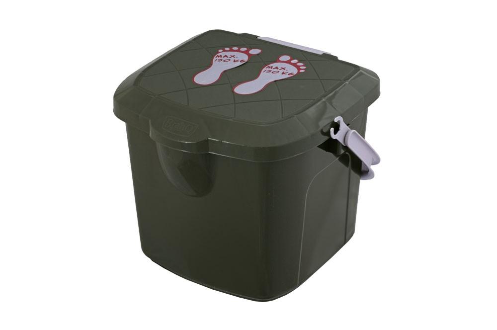 Taboret Bucket Stolové stoličky pre ryby 15.5L