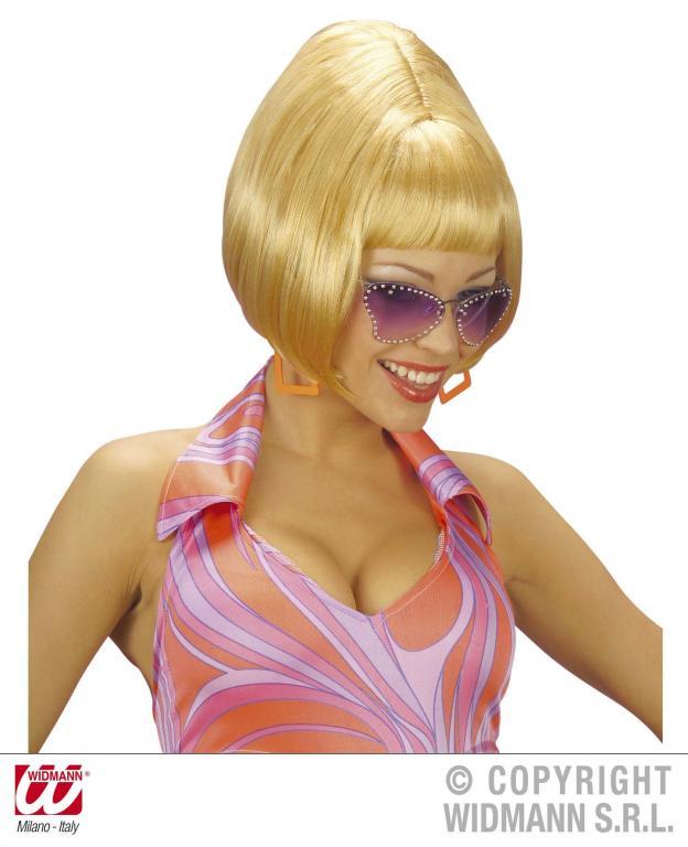 Parochňa parochne vlasy bob blond blondýna vitajte