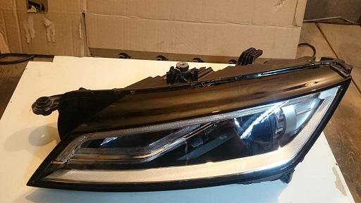 лампа слева audi tt 8s0 bixenon led без ремонт