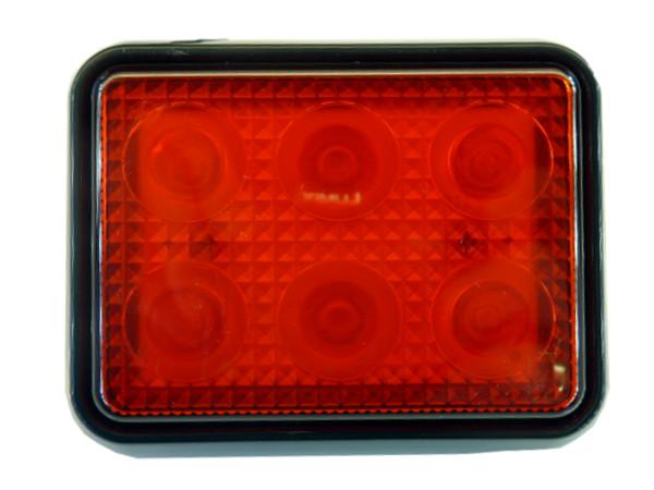 сильная лампа led стоп + положение 12v 24v красная rs
