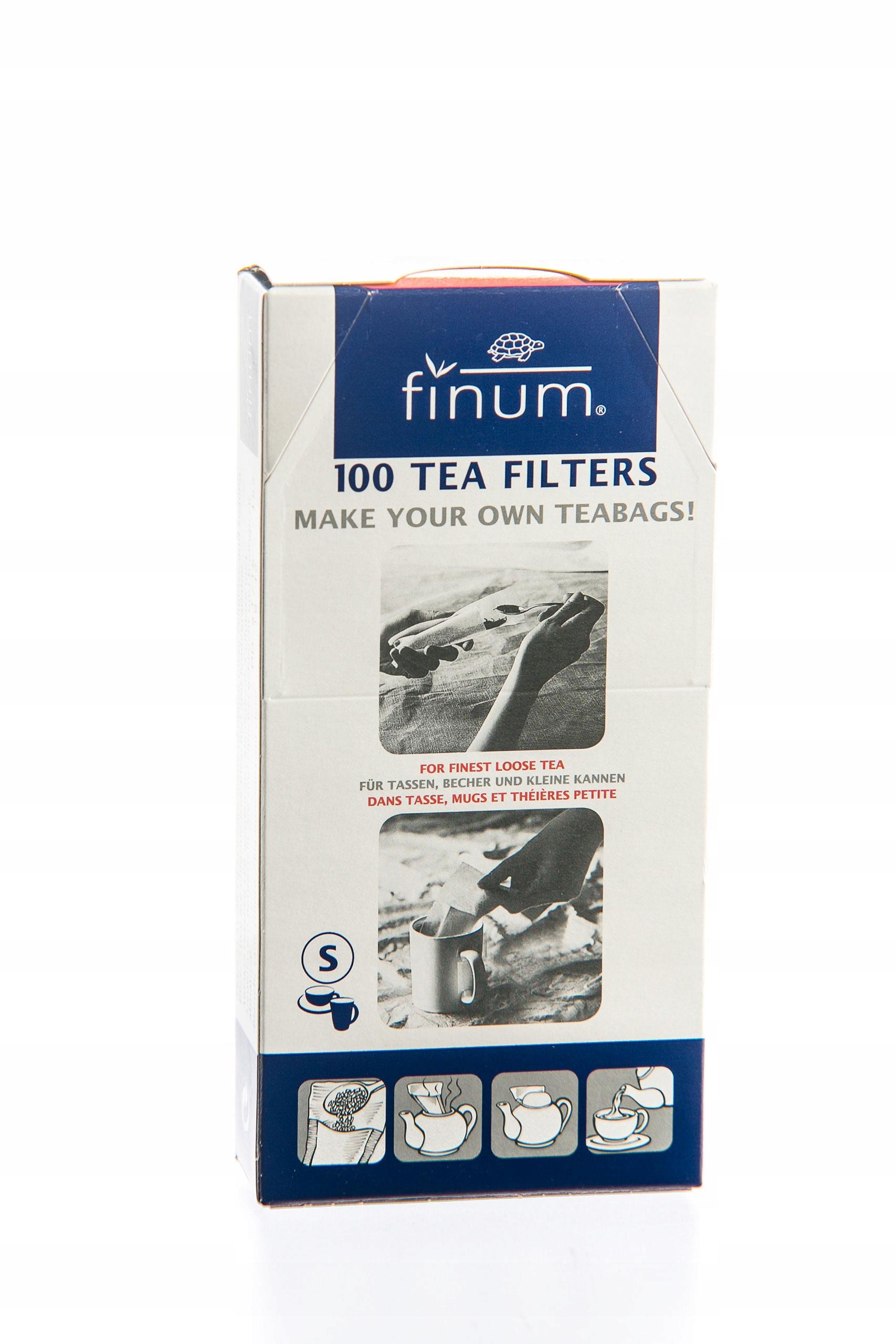 Filtre papierové tašky FINUM S (MALÉ) 100ks. x10szt