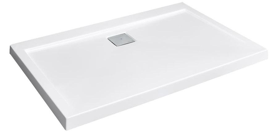 RADAWAY Argos D 90x80 obdĺžniková sprchová vanička