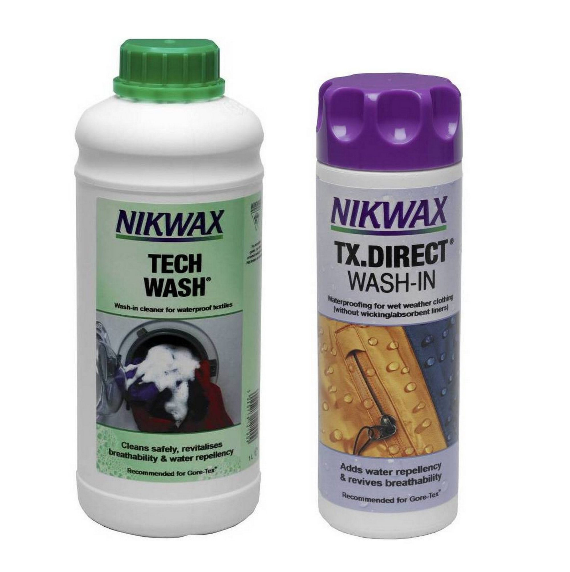 Набор Nikwax TECH WASH 1000 мл + TX DIRECT 300 мл