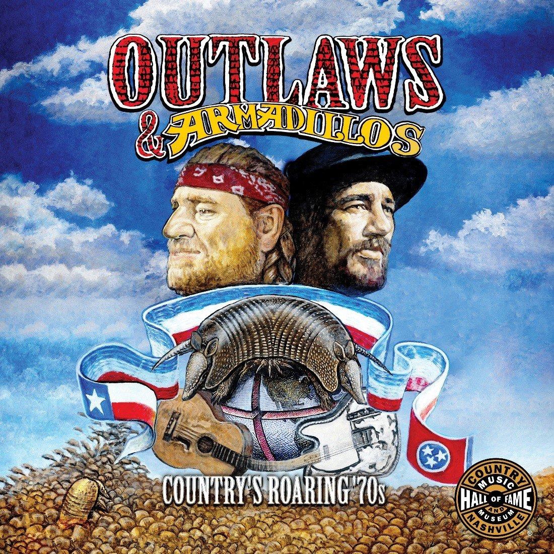 OUTLAWS + ARMADILLOS Country's Рорин '70s LP доставка товаров из Польши и Allegro на русском